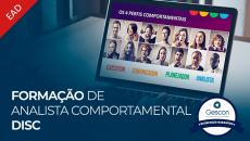 Formação de Analista Comportamental DISC Profiler (Online | EAD)