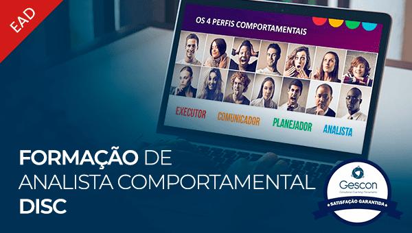 Formação de Analista Comportamental DISC Profiler (Online   EAD)