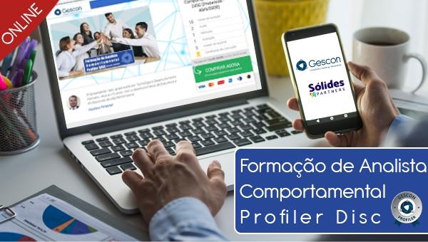 (Mar/2020) Formação de Analista Comportamental Profiler DISC (Online | Ao vivo)